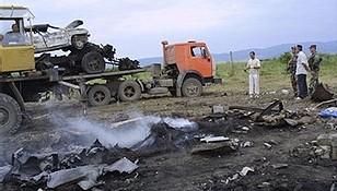 Explosion qui aurait tué Chamil Bassaïev, Ingouchie