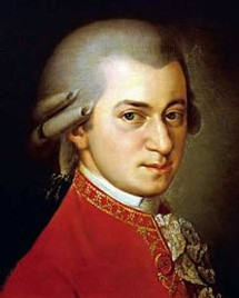 Portrait de Wolfgang Amadeus Mozart