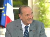 Jaques Chirac sur France 2