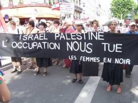 Les femmes en noir est un mouvement de femmes juives opposées à l'occupation israélienne