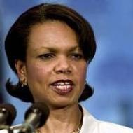 La secrétaire d'Etat américaine Condoleezza Rice