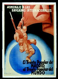Affiche pour les Brigades Internationales