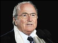 Sepp Blatter, président de la FIFA