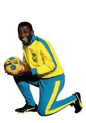 Pelé est sponsorisé par Puma