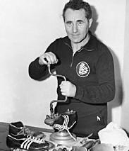 Adi Dassler, fondateur d'Adidas