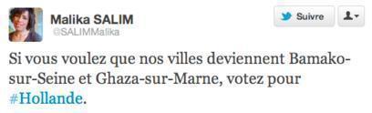 Malika Salim enflamme Twitter avec ses « Bamako-sur-Seine » et « Ghaza-sur-Marne »