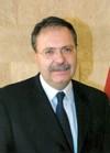 Tarek Mitri, ministre libanais des Affaires étrangères par intérim