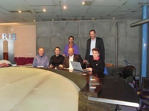 Les membres du collectif IDAHO-Religions dont assis de gauche à droite Jean-Michel Dunand de la Communion de Béthanie, Ludovic Mohamed Zahed de H2MF et Louis-Georges Tin, président du Comité IDAHO.
