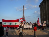 Rassemblement Place du Trocadéro