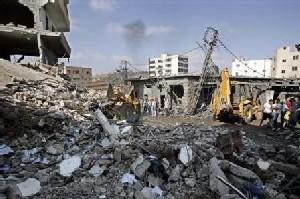 Beyrouth sous le feu des bombardements israéliens