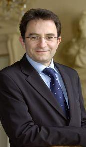 Michel Champredon, maire d'Evreux
