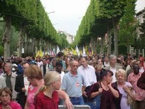 La marche de solidarité