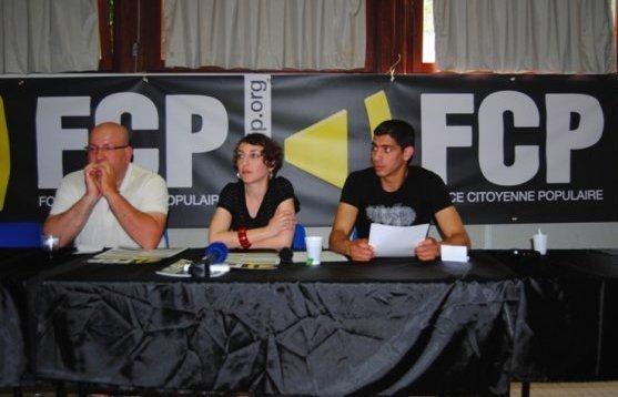 Force citoyenne populaire (FCP) a été lancé officiellement lors de son congrès fondateur les 2 et 3 juin à Nanterre.