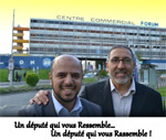 Mimoun El-Hejraoui (à gauche) et son suppléant Saïd Hadji