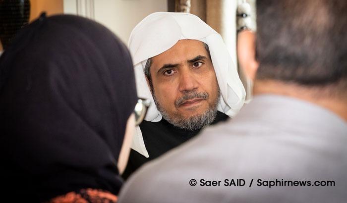 Lors d'un entretien exclusif accordé à Saphirnews, le secrétaire général de la Ligue islamique mondiale, Mohammed Abdul Karim Al-Issa, a insisté sur le caractère provisoire des mesures visant le pèlerinage. © Saer Said / Saphirnews.com