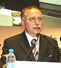 Ekmeleddin Ihsanoglu, secrétaire général de l'Organisation de la Conférence islamique