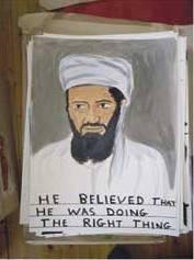 Le portrait de Ben Laden censuré à l'Art Basel, en Suisse