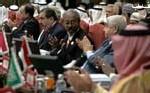 Des représentants de la Ligue arabe