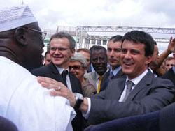 Manuel Valls, le ministre de l'Intérieur et des cultes.