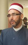 Tahar Mahdi, l'imam de la Grande mosquée de Cergy.