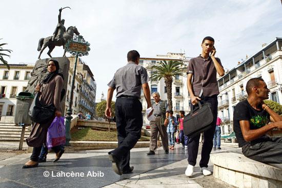 Place Emir Abdelkader, à Alger.