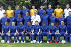 L'équipe de France à l'Euro 2012