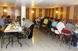 Iftar à la Grande Mosquée de Clermont-Ferrand.