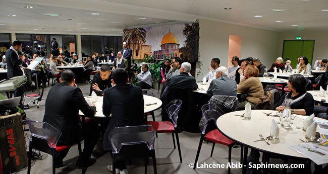 Le premier dîner caritatif organisé par le CBSP lors de la journée de la femme, en mars dernier.