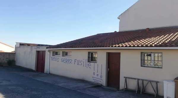 Cholet : des menaces de morts retrouvées sur les murs d'une mosquée