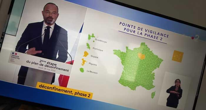 Face au recul de l'épidémie de Covid-19 en France, voici les nouvelles mesures de déconfinement annoncées