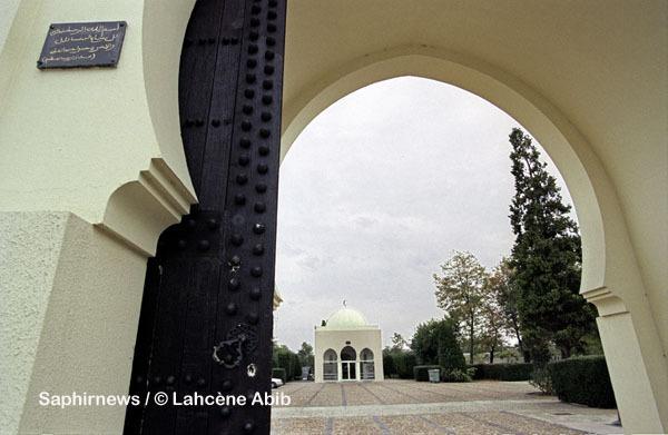 La mosquée Takwa, dans le cimetière franco-musulman de Bobigny (93), en Seine-Saint-Denis. Construit en 1934, ce lieu est aujourd'hui classé Monument historique.