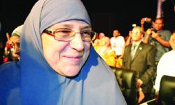 Naglaa Ali Mahmoud, Première dame égyptienne.