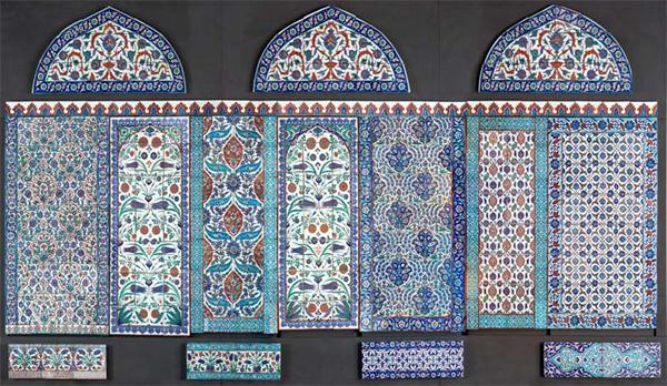 Mur ottoman ou mur du temps - Turquie, XVIe-XIXe siècles- © Musée du Louvre, dist. RMN /Raphaël Chipault