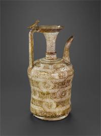 """Vase au nom du sultan d'al-Malik al-Nâsir, Salâh al- Dîn Yûsuf , dit """"vase Barberini"""" - Syrie, 2e quart - 3e quart du XIIIe siècle- © Musée du Louvre, dist. RMN / Hughes Dubois"""
