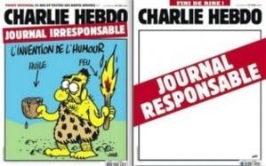 Les deux Unes de Charlie Hebdo