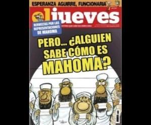 Les musulmans d'Espagne indignés par une caricature du Prophète