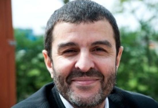 Abdelhak Eddouk, aumônier musulman de la prison de Fleury-Mérogis, en région parisienne.