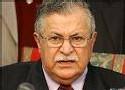 Le président irakien Jalal Talabani