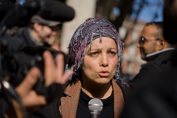 Houria Bouteldja figure désormais parmi les nombreuses victimes de la Ligue de défense juive (LDJ).