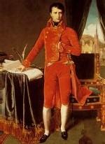 Napoléon, cinq ans avant son sacre d'empereur.