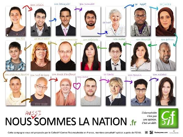 Le Collectif contre l'islamophobie en France (CCIF) lance une vaste campagne nationale de communication plurimédias en novembre.