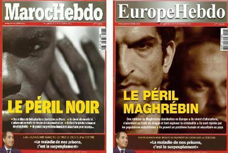 Négrophobie : la Une choc de Maroc Hebdo sur « le péril noir »
