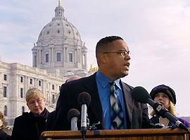 Keith Ellison, élu au Congrès américain