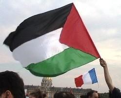 Manifestation contre les massacres en Palestine