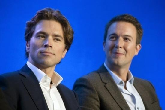 Guillaume Peltier (à dr.) et Geoffroy Didier, fondateurs de la Droite forte.