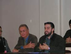 Hervé Bataille lors de la conférence de presse