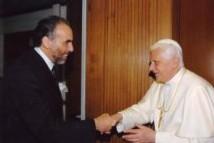 Rencontre historique d'un penseur musulman avec le Pape