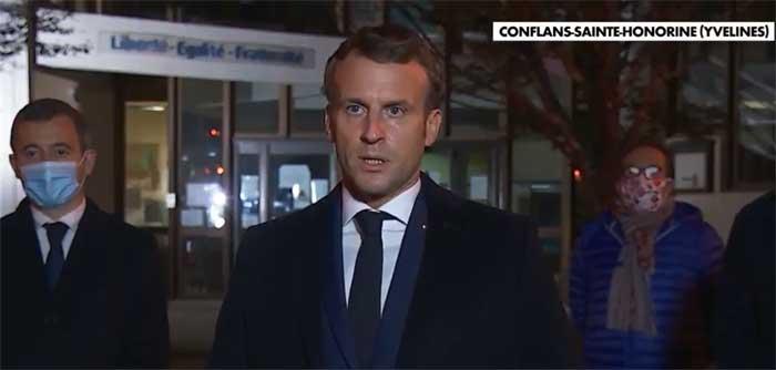 « L'unité est indispensable » : Macron dénonce un attentat après la décapitation d'un enseignant à Conflans