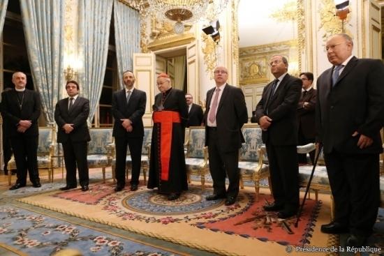 Les vœux de François Hollande aux religions, mardi 8 janvier 2013.