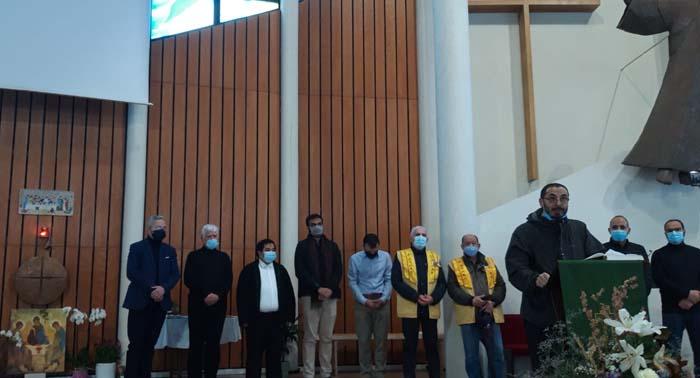 Chrétiens, juifs, bouddhistes, hindous, musulmans ou encore athées se sont retrouvés sous une même coupole pour la Toussaint, dimanche 1er novembre, en hommage aux victimes de Notre-Dame de Nice. © DR
